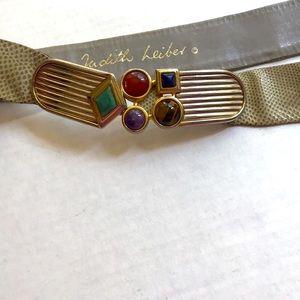 Judith Leiber vintage belt